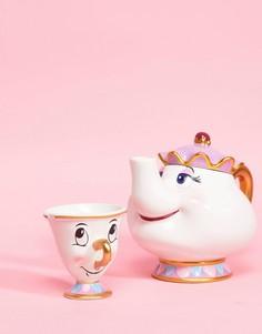 Заварочный чайник Мадам Поттс и кружка Чип Disney - Мульти BB Designs
