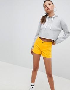 Джинсовые шорты с подвернутым краем Noisy May - Желтый