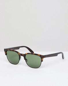 Солнцезащитные очки в квадратной оправе Carrera - Черный