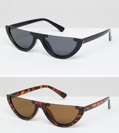 2 солнцезащитных очков кошачий глаз 7X - Мульти