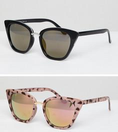 Солнцезащитные очки кошачий глаз - набор из 2 7X - Мульти