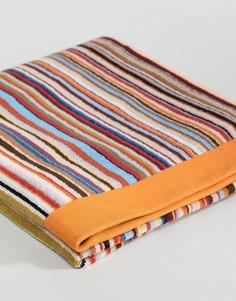 Пляжное полотенце с полосками Paul Smith - Мульти