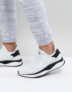 Белые кроссовки с решетчатой отделкой Puma Tsugi 36539402 - Белый