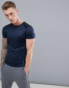 Облегающая футболка со вставками ASOS 4505 - Мульти