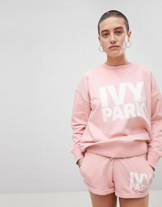 Розовый свитшот с логотипом Ivy Park - Розовый