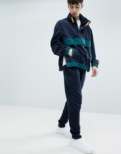 Сине-зеленая куртка BOSS Okroos - Темно-синий