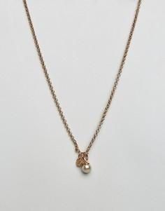 Ожерелье с подвеской-камнем DyrbergKern - Золотой