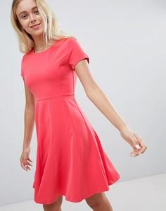 Короткое приталенное платье Louche - Розовый