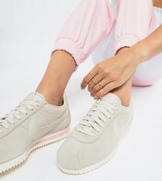 Классические замшевые кроссовки Nike - Бежевый