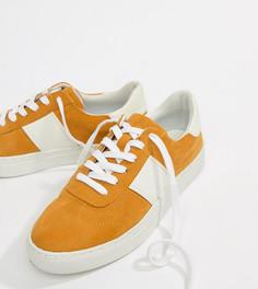 Кроссовки на шнуровке ASOS DESIGN Drizzle - Желтый
