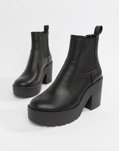 Ботинки челси на массивной подошве ASOS DESIGN Element - Черный