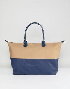 Парусиновая дорожная сумка Mi-Pac - Мульти