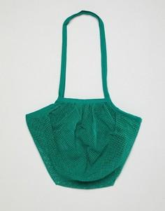 Пляжная сумка ASOS DESIGN - Зеленый