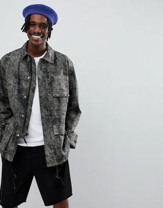 Спортивная куртка ограниченной серии Weekday Paz - Черный