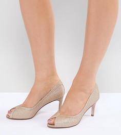 Туфли на каблуке ASOS DESIGN Summer - Золотой