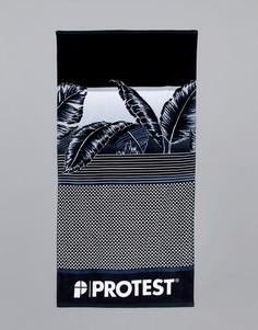 Черное полотенце Protest - Черный