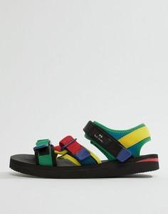 Разноцветные сандалии PS Paul Smith - Мульти