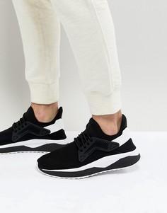 Черные кроссовки с решетчатой отделкой Puma Tsugi 36539401 - Черный