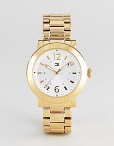 Золотистые часы Tommy Hilfiger Aubrey - Золотой