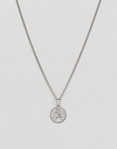 Ожерелье с подвеской-монетой Liars & Lovers - Серебряный
