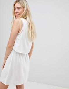 Двухслойное платье JDY - Белый