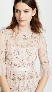 Needle & Thread Lustre Ruffle Dress