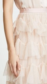 Needle & Thread Scallop Tulle Skirt