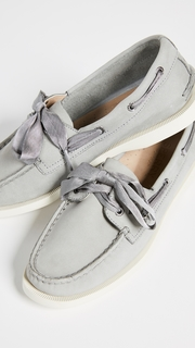Sperry A/O Satin Lace Boat Shoes