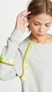 Generation Love Devon Brocade Trim Sweatshirt