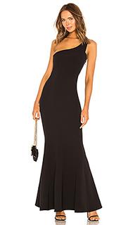 Вечернее платье с открытым плечом mei li - NBD