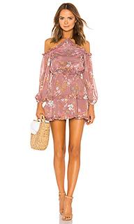 Мини платье с открытыми плечами donna - Tularosa