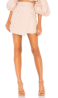 Asymmetrical mini skirt - LPA