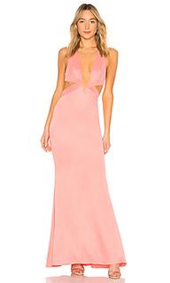 Вечернее платье с вырезом madeline - Lovers + Friends