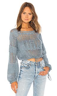 Пуловер кроше willow - Tularosa