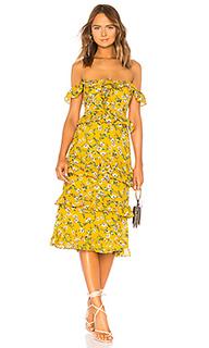 Миди платье с открытым плечом lily - Tularosa