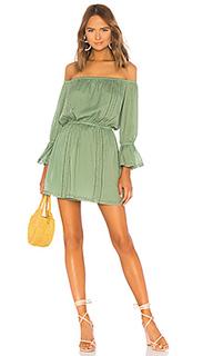 Мини-платье с открытыми плечами luna - Tularosa