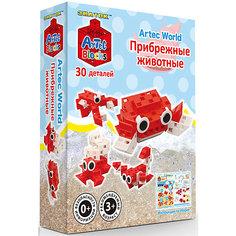 """Конструктор Знаток """"Artec  Bloks"""" Прибрежные животные, 30 деталей"""