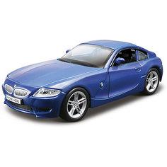 """Коллекционная машинка Bburago """"BMW Z4 M Coupe"""" 1:32, синяя"""