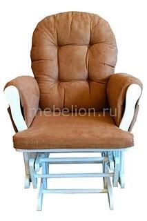 Кресло-качалка 1806 белый/бежевый Петроторг