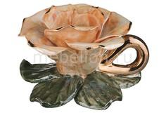 Подсвечник декоративный (11х6 см) Роза 180-524