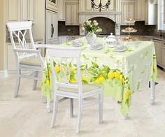 Скатерть (145х145 см) Лимонный сад Романтика