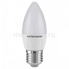 Лампы светодиодная Свеча СD LED 6W 4200K E27 Elektrostandard