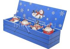 Набор из 4 снеговиков (7.5 см) LH-F1-SET_4 Mister Christmas