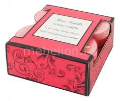 Набор из 4 свечей ароматических Rose 319072 ОГОГО Обстановочка