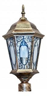 Наземный низкий светильник Витраж с овалом 11329 Feron