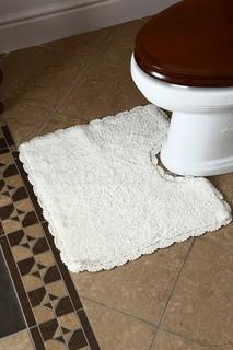 Коврик для ванной (50х50 см) Лейс Arloni