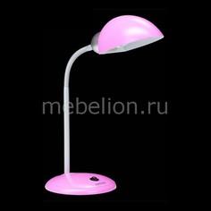 Настольная лампа офисная 1926 розовый Eurosvet