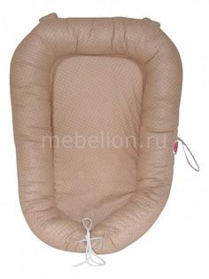 Подушка для новорожденных (30х60 см) Кофе с молоком Relax Son