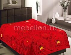 Плед (180х220 см) Розы красные Tex Republic