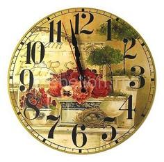 Настенные часы (30 см) C451 Акита